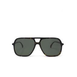 Gucci® Aviator Sunglasses: GG0545S color Havana 002.