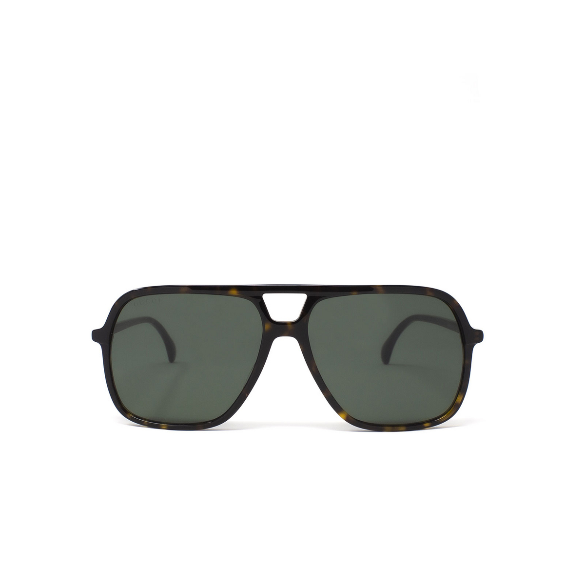 Gucci® Aviator Sunglasses: GG0545S color Havana 002 - 1/3.