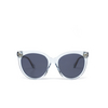 Gucci® Butterfly Sunglasses: GG0565S color Light Blue 003 - product thumbnail 1/3.