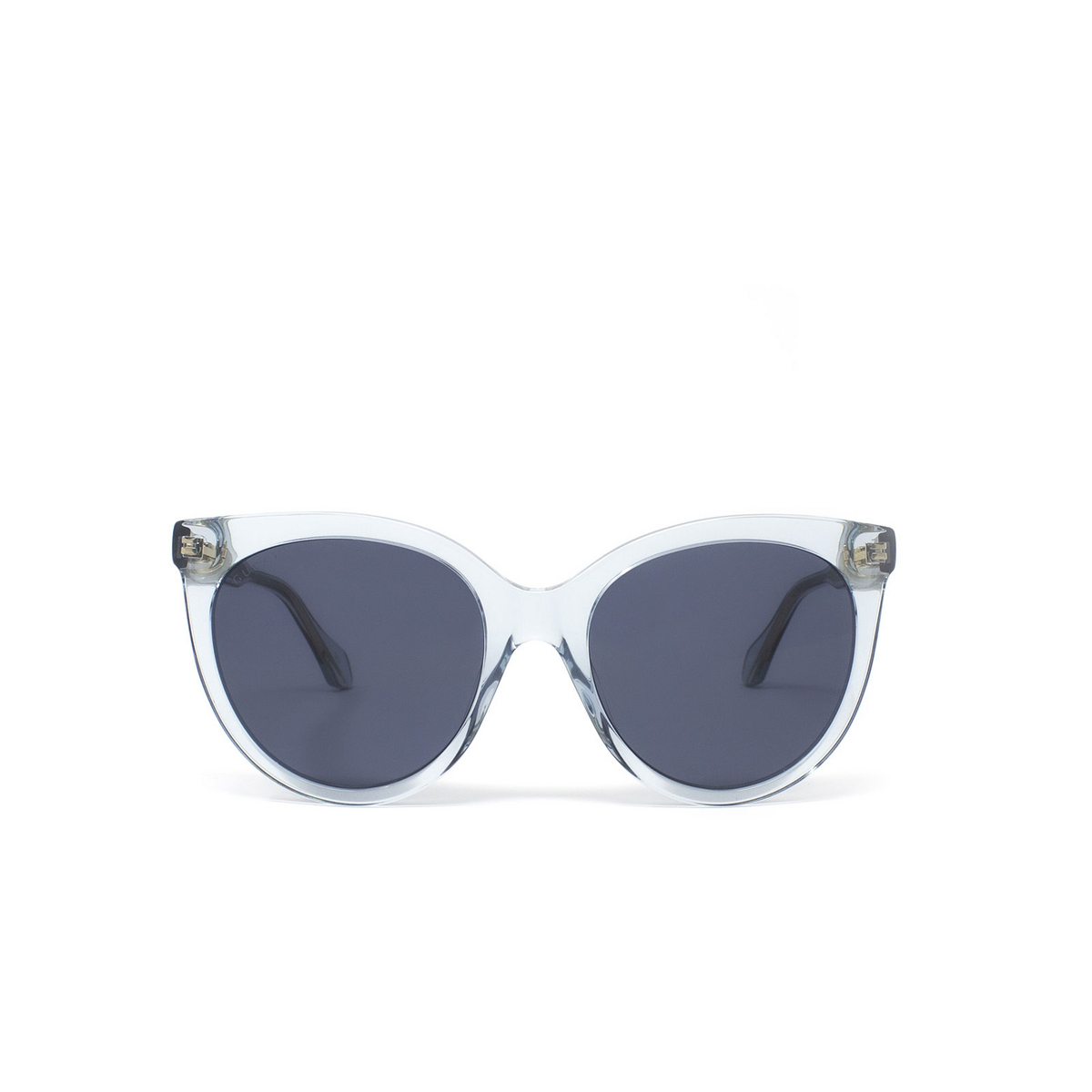 Gucci® Butterfly Sunglasses: GG0565S color Light Blue 003 - 1/3.