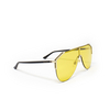 Gucci® Mask Sunglasses: GG0584S color Gold 004 - product thumbnail 2/3.