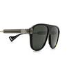 Gucci® Aviator Sunglasses: GG0587S color Havana 002 - product thumbnail 3/3.