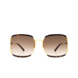 Gucci® Sunglasses: GG0593SK color Havana 002.