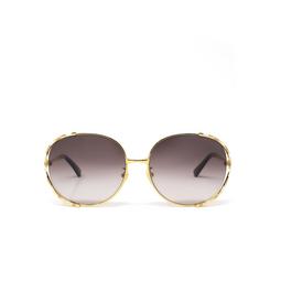 Gucci® Sunglasses: GG0595S color Gold 004.