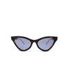Gucci® Cat-eye Sunglasses: GG0597S color Havana 002 - product thumbnail 1/3.