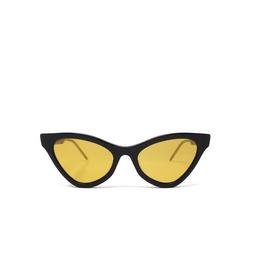 Gucci® Cat-eye Sunglasses: GG0597S color Black 004.