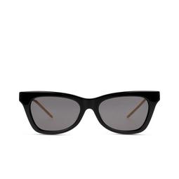 Gucci® Cat-eye Sunglasses: GG0598S color Black 001.