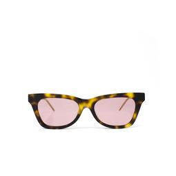 Gucci® Cat-eye Sunglasses: GG0598S color Havana 003.
