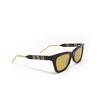 Gucci® Cat-eye Sunglasses: GG0598S color Black 004 - product thumbnail 2/3.