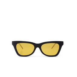 Gucci® Cat-eye Sunglasses: GG0598S color Black 004.