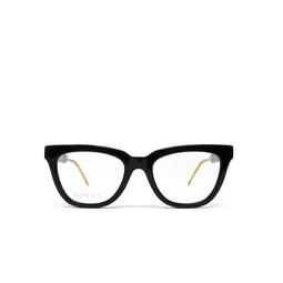 Gucci® Eyeglasses: GG0601O color Black 004.