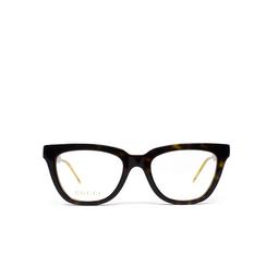 Gucci® Eyeglasses: GG0601O color Havana 005.