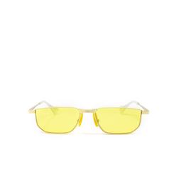 Gucci® Irregular Sunglasses: GG0627S color Gold 001.