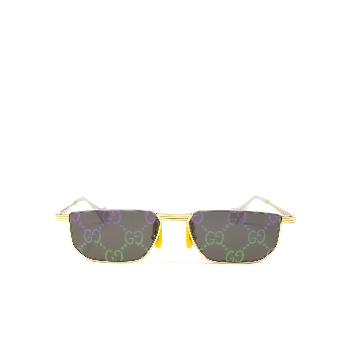 Gucci® Irregular Sunglasses: GG0627S color Gold 002 - 1/3.