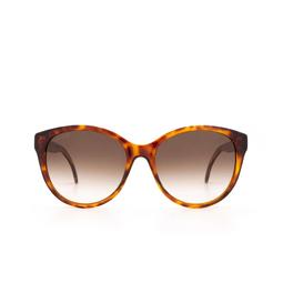 Gucci® Round Sunglasses: GG0631S color Havana 002.
