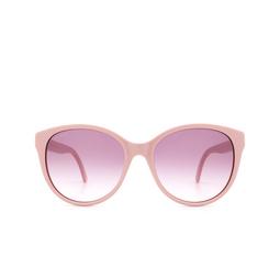 Gucci® Round Sunglasses: GG0631S color Pink 004.