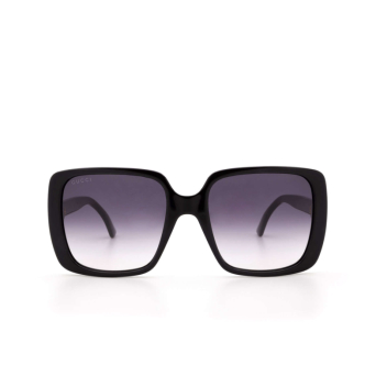 Gucci® Square Sunglasses: GG0632S color Black 001.