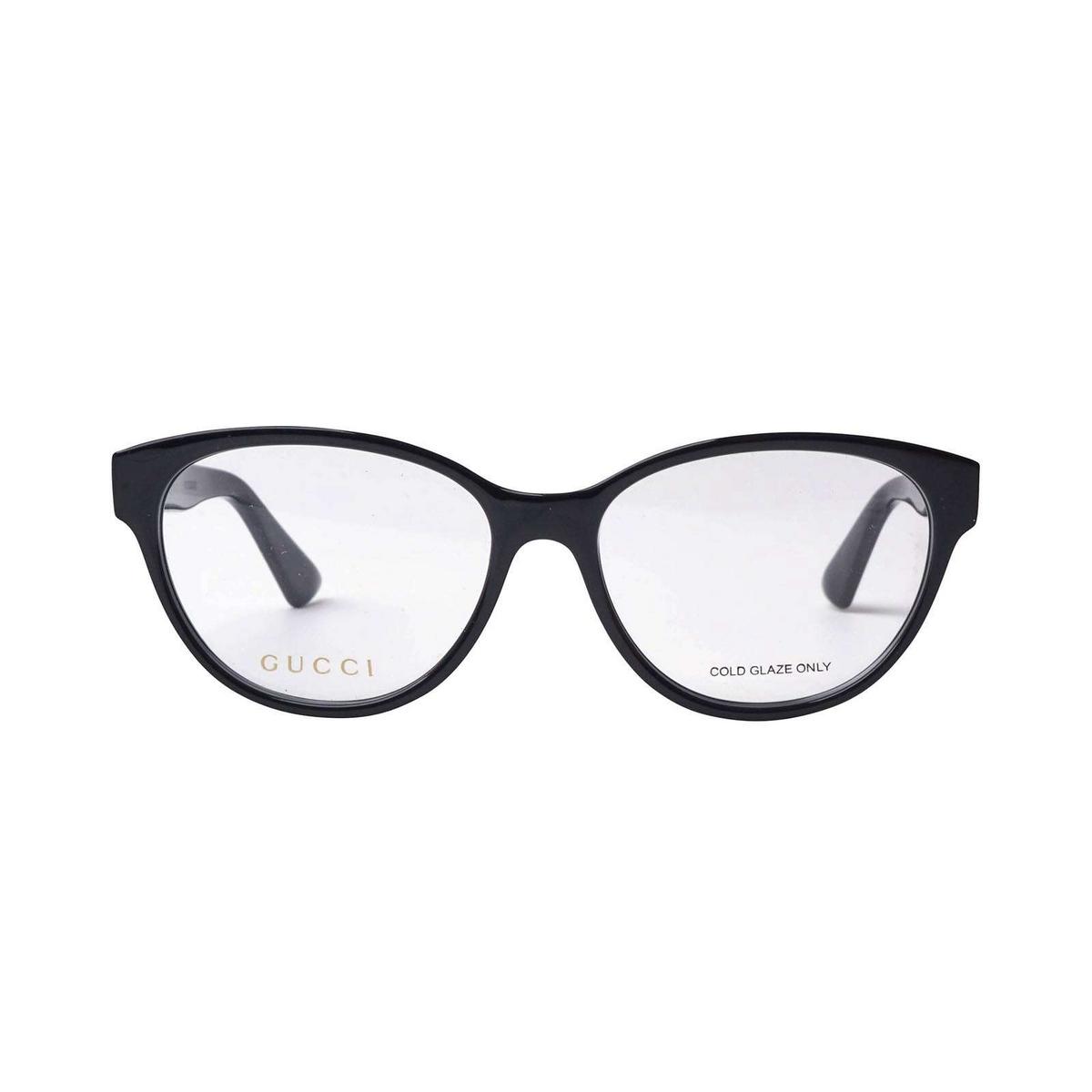 Gucci® Cat-eye Eyeglasses: GG0633O color Black 001.