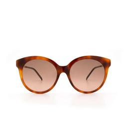 Gucci® Sunglasses: GG0653S color Havana 002.