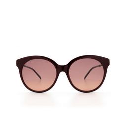 Gucci® Sunglasses: GG0653S color Burgundy 003.