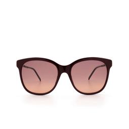 Gucci® Sunglasses: GG0654S color Burgundy 004.