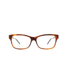 Gucci® Eyeglasses: GG0657O color Havana 003.