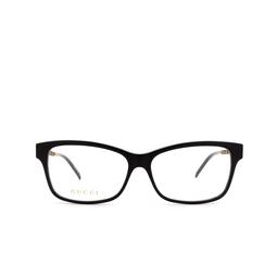 Gucci® Eyeglasses: GG0657O color Black 004.