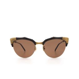 Gucci® Cat-eye Sunglasses: GG0661S color Black 001.