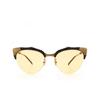 Gucci® Cat-eye Sunglasses: GG0661S color Black 002 - product thumbnail 1/3.