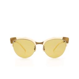 Gucci® Cat-eye Sunglasses: GG0661S color White 003.
