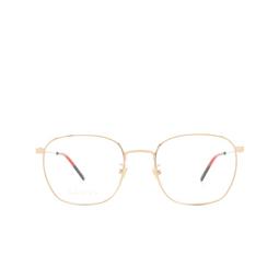 Gucci® Eyeglasses: GG0681O color Gold 001.