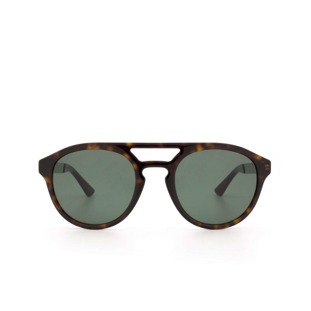 Gucci® Aviator Sunglasses: GG0689S color Havana 002 - 1/3.