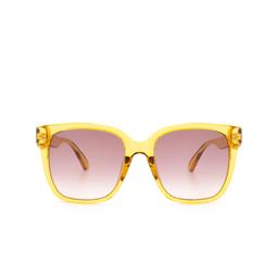 Gucci® Sunglasses: GG0715SA color Yellow 003.