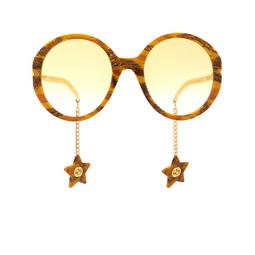 Gucci® Sunglasses: GG0726S color Havana 004.
