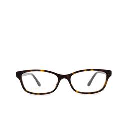 Gucci® Eyeglasses: GG0730O color Havana 006.