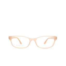 Gucci® Eyeglasses: GG0730O color Nude 008.