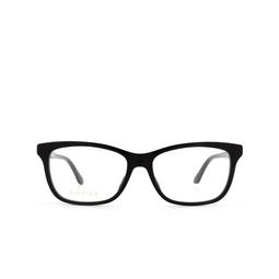 Gucci® Eyeglasses: GG0731O color Black 001.
