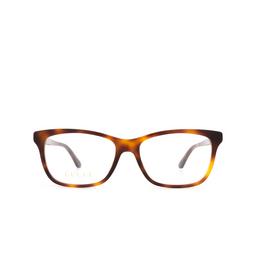 Gucci® Eyeglasses: GG0731O color Havana 002.