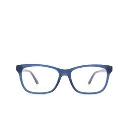 Gucci® Eyeglasses: GG0731O color Blue 004.