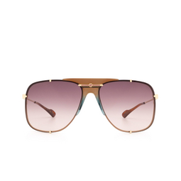 Gucci® Sunglasses: GG0739S color Gold 002.