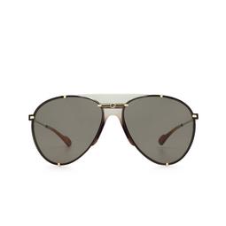 Gucci® Sunglasses: GG0740S color Gold 001.