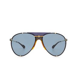 Gucci® Sunglasses: GG0740S color Gold 002.