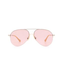 Gucci® Sunglasses: GG0742S color Silver 003.