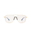 Gucci® Square Sunglasses: GG0743S color Gold 006 - product thumbnail 1/3.