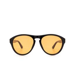 Gucci® Aviator Sunglasses: GG0747S color Black 002.