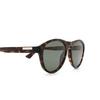 Gucci® Aviator Sunglasses: GG0747S color Havana 003 - product thumbnail 3/3.