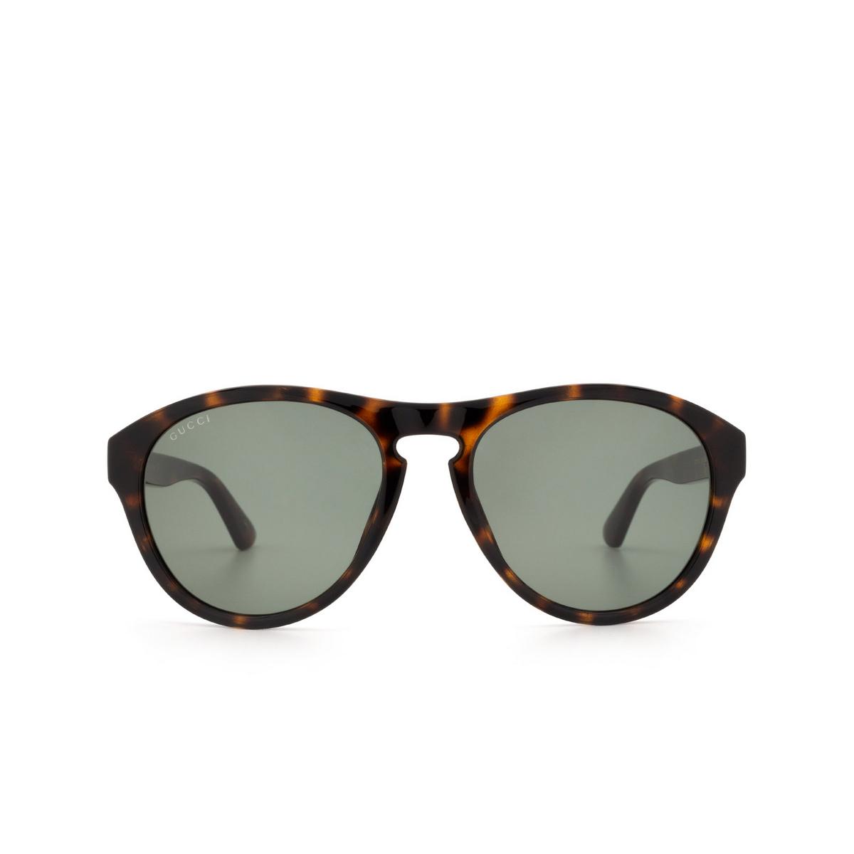 Gucci® Aviator Sunglasses: GG0747S color Havana 003 - 1/3.