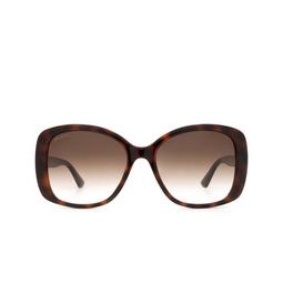 Gucci® Sunglasses: GG0762S color Havana 002.