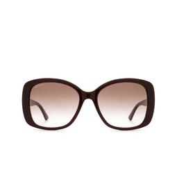 Gucci® Sunglasses: GG0762S color Burgundy 003.