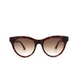 Gucci® Sunglasses: GG0763S color Havana 002.